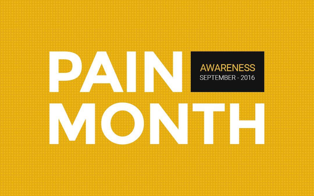 Pain Awareness Month - https://www.premierbiotech.com