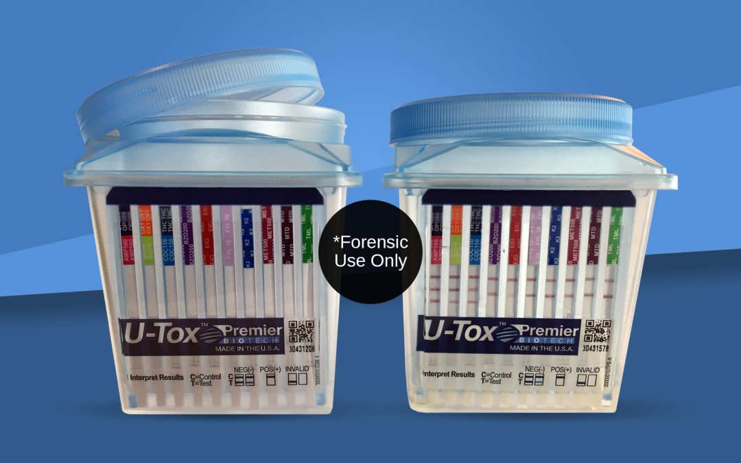 U-Tox products sitting side by side with one open
