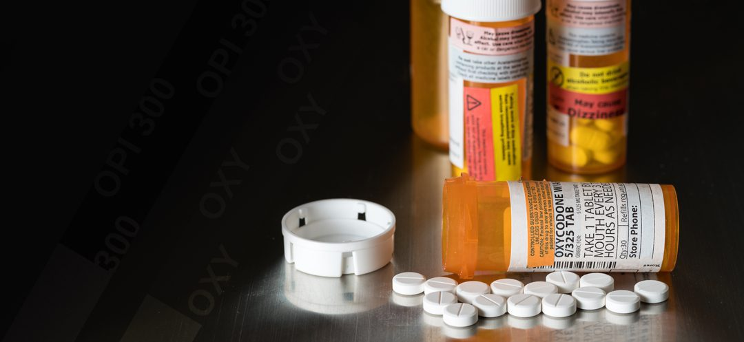 Oxycodone - Bottles of Pills